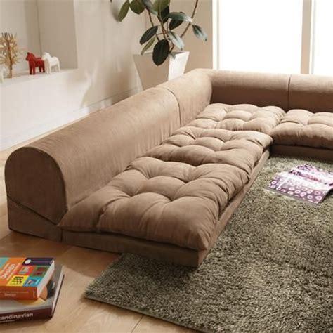 floor level seating furniture 38 brilliant floor level sofa designs to boost your