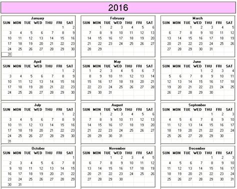 printable yearly calendar by week yearly 2015 printable calendar color week starts on sunday