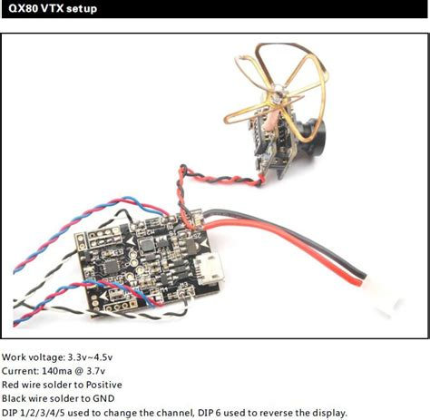 Eachine M80 Micro Frame 80mm 8520 Coreless Motor Brushed micro qx80 fpv quadcopter kit unmanned tech