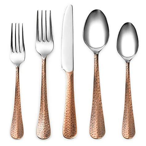 cambridge 174 silversmiths indira jessamine copper flatware