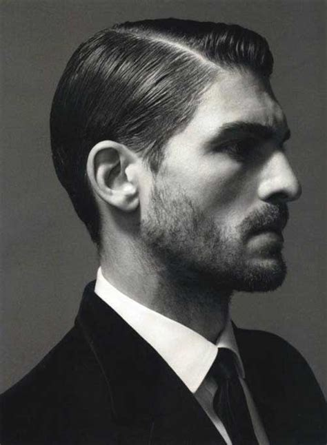 men s slicked back side parted hairstyles 2016 men s 30 good short haircuts for men mens hairstyles 2018