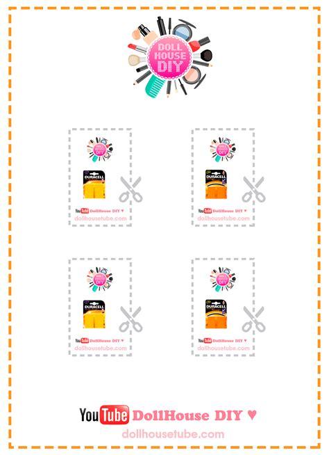 diy printable miniature printables dollhouse diy
