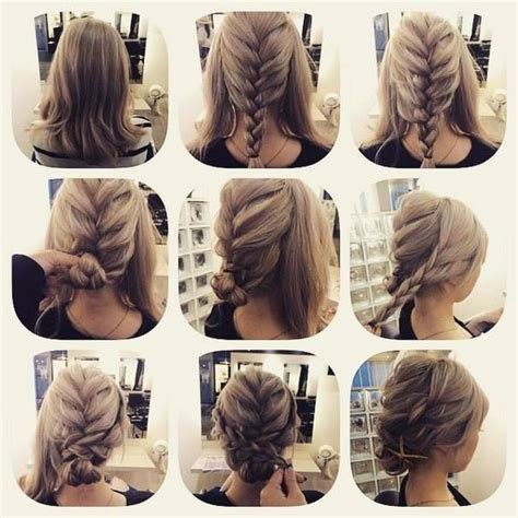 fashionable braid hairstyle for shoulder length hair www fashionable braid hairstyle for shoulder length hair