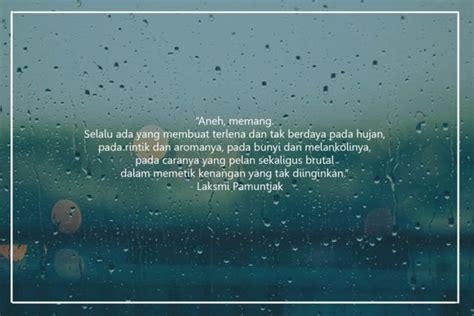 quotes hujan  senja kata kata mutiara