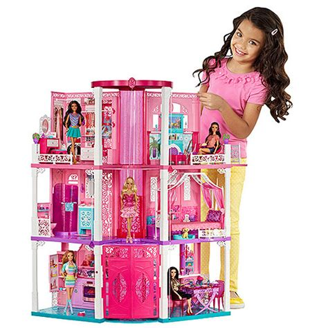 doll houses for barbie barbie dreamhouse walmart com