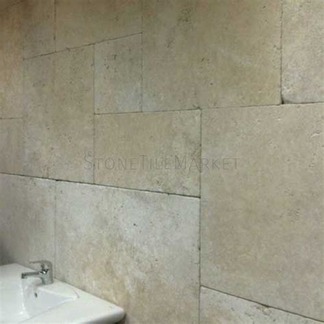 opus pattern travertine tiles jumbo opus pattern tumbled travertine tiles stone tile