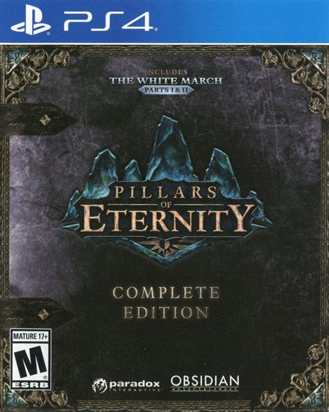 Kaset Ps4 Pillars Of Eternity Complete Edition Reg 1 pillars of eternity complete edition 2017 playstation 4 box cover mobygames