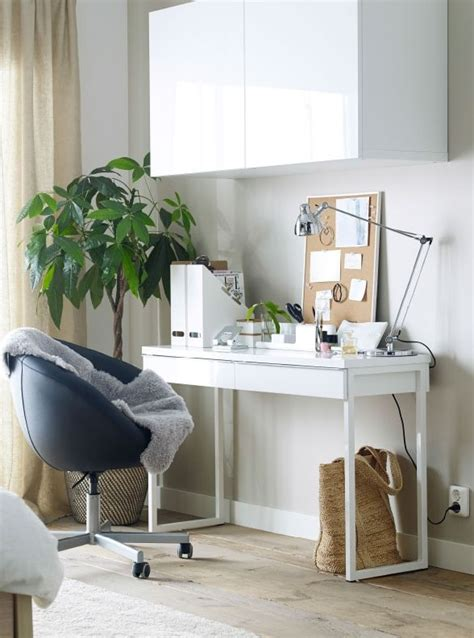 ikea besta office best 197 burs desk high gloss white for the vanities and