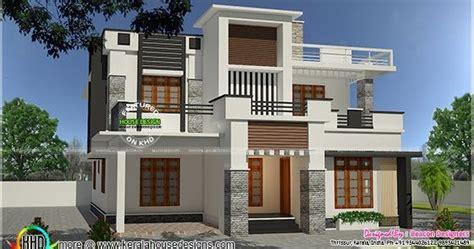 3 Bedroom Modern Flat Roof 28 Images Gandul Modern Flat Roof 2971 Sq Ft Kerala Home Design And Floor Plans