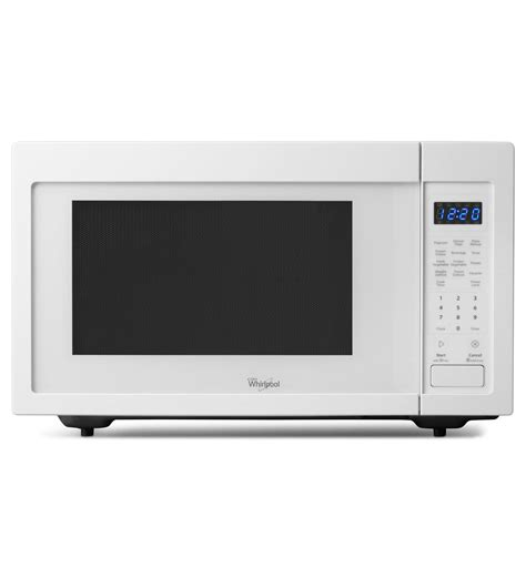 Best Small Countertop Microwave by Whirlpool 1 6 Cu Ft Counter Top Microwave Wmc30516aw White