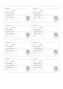 roald dahl day book swap sheets 2nd 3rd grade printables