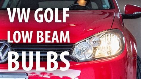 how to change low beam bulb on a 2000 mercury villager how to change low beam headlight bulbs vw golf mk6 youtube