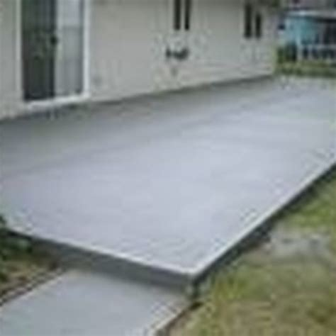 how much to pour concrete patio 1000 images about yard and deck on pits pathways and solar