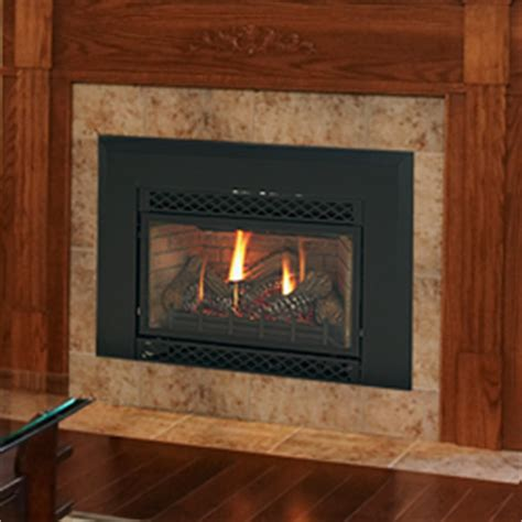30 quot accent direct vent fireplace insert liner blower
