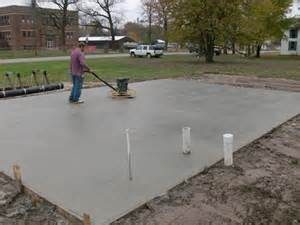 Depth Of Concrete Slab For Shed by Choosing The Foundation For Your Shed Or Structure