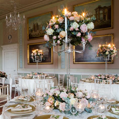 Wedding Table Centrepieces by Table Centrepieces By Get Knotted Beautiful Floral