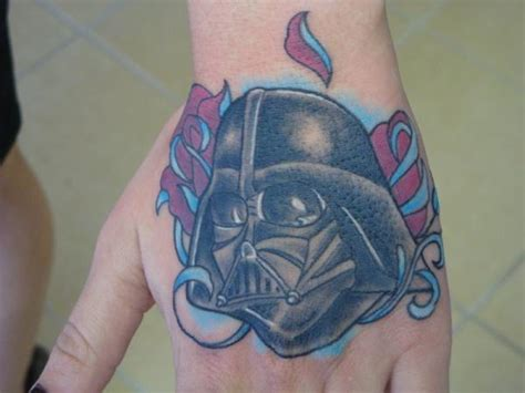 evil tattoo on hand 40 awesome hand tattoos