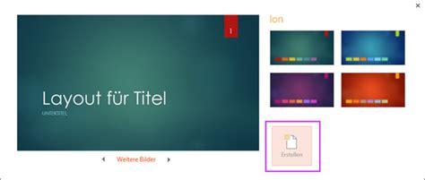 layout für blog erstellen grundlegende aufgaben beim erstellen einer powerpoint