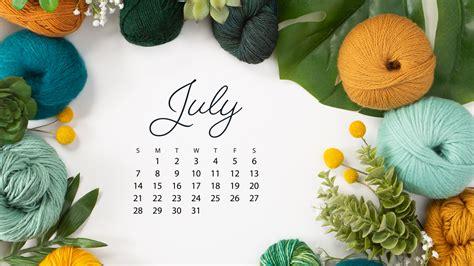 downloadable july  calendar knitpicks staff
