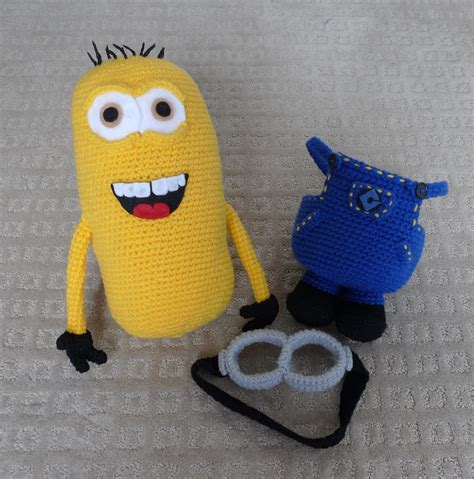 minion crochet bobs and the minions on pinterest despicable me minion all about ami