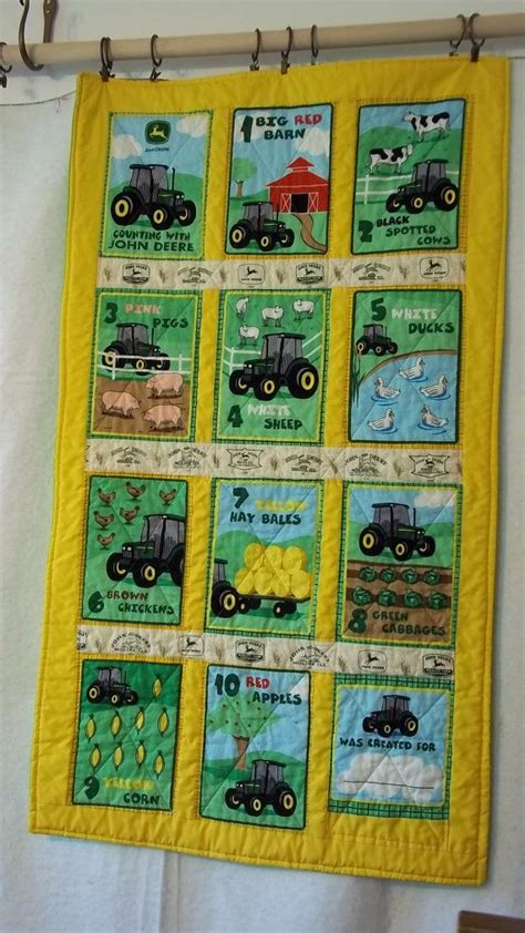 Deere Quilt by Deere Baby Quilts And Quilt On