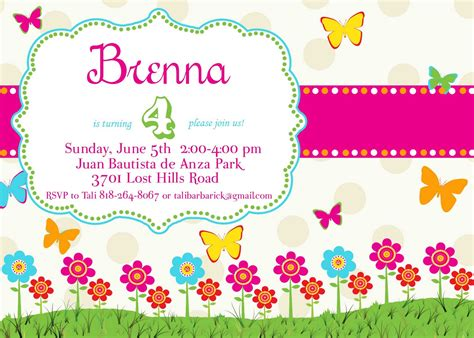 butterfly invitation card template butterfly birthday invitations template best template
