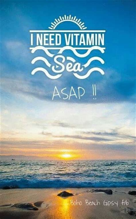 Vitamin Sea i need vitamin sea asap s p e a k vitamins