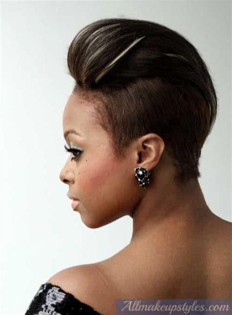 black hair styles for 2015 with one side shaved 25 updo hairstyles for black women