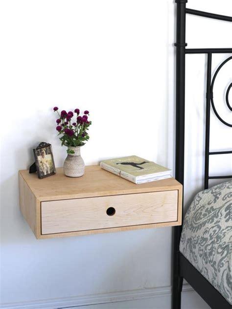 Floating Nightstand With Drawer by Floating Modern Nightstand With Drawer Mid Century Modern