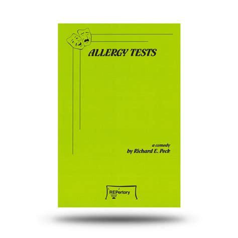 The Stone Barn Kennett Square Allergy Tests Richard E Peck