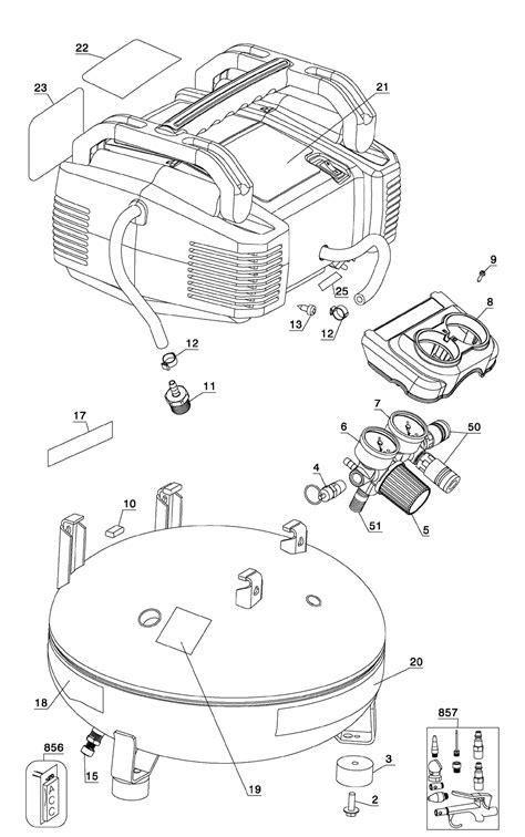 porter cable compressor parts diagram html auto engine