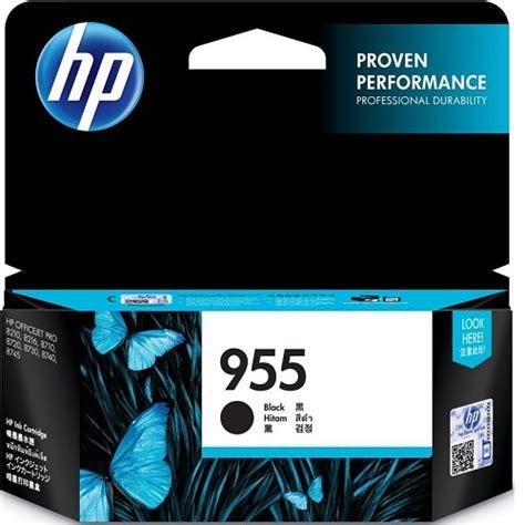 Hp 955xl Black Ink Cartridge L0s72aa Original l0s60aa hp 955 black original ink cartridge planet komputer planet komputer