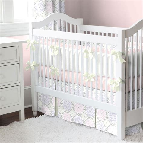 Rail Covers For Cribs by Pink Modern Floral Crib Rail Cover Carousel Designs