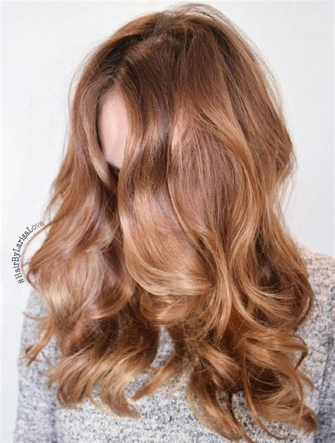 Strawberry Balayage On Brown Hair Www Pixshark Images Galleries With A Bite 60 Stunning Shades Of Strawberry Hair Color