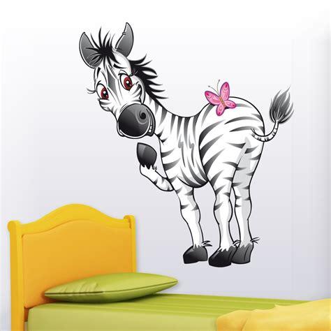 Wandtattoo Zebra Kinderzimmer by Wandtattoos Folies Wandsticker Zebra
