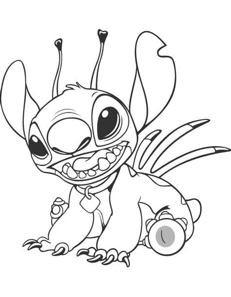 Nos jeux de coloriage Stitch à imprimer gratuit - Page 2 of 5