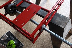 Brackett Solid For Motor Side Back Set azusa kart build up affordable go karts