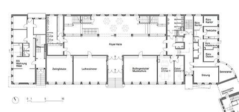Foyer Grundriss by Team4 Architekten Kirchgemeindehaus Paulus Z 252 Rich