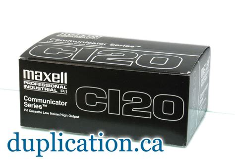 maxell cassette maxell p i 120 minute audio cassette c 120 1