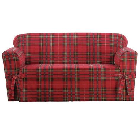 plaid slipcover 192 best images about slipcovers klippan loveseat etc