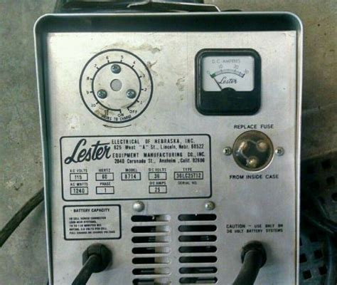 lester golf cart charger parts find lester golf cart battery charger motorcycle in erie