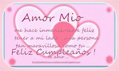 imagenes happy birthday amor amor mio 161 feliz cumplea 241 os happy birthday mi amor