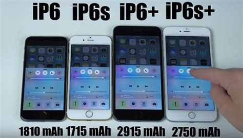 e iphone 6s plus test della batteria iphone 6 iphone 6s iphone 6 plus e iphone 6s plus a confronto iphone italia