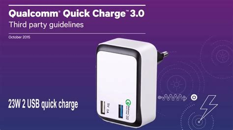 Qualcom Charge 3 0 Tech 3 Port Usb Aukey dual usb port charger with qualcomm charge 3 0 tech wall charger buy charge 3 0