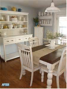 Rooms To Go Kitchen Furniture Dining Room The White Hutch Shelves The Walnut Country Table Top The Hardwood