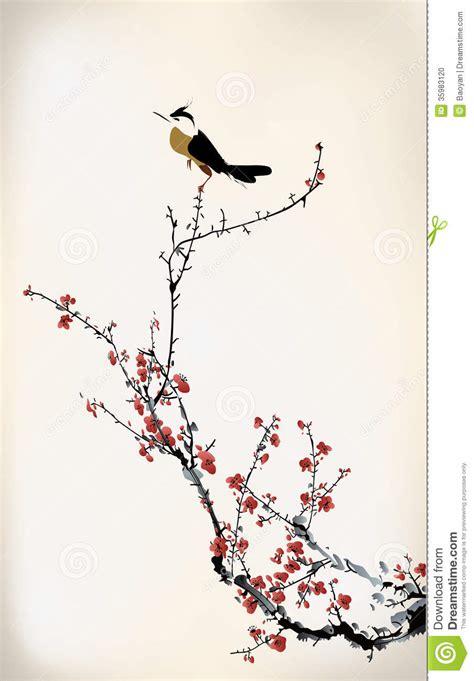 bird painting stock photo image 35983120