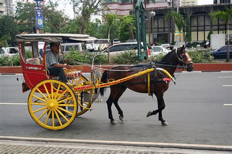 kalesa philippines kalesa cart flickr photo