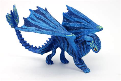 Origami Toothless - toothless origami avatar inspired toothless fury