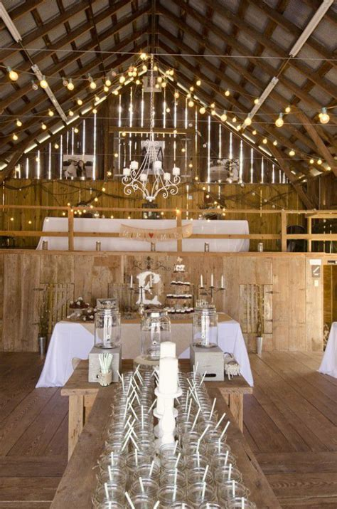 Burlap & Lace Rustic Barn Wedding   Rustic Wedding Chic