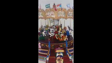 mr christmas nottingham fair sold mr nottingham fair carousel merry go lights